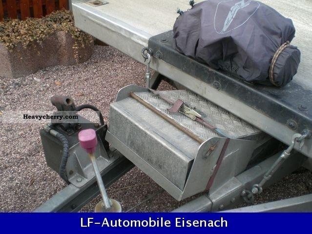 Aluminum Car Construction : Tischer trailer gg to high quality aluminum