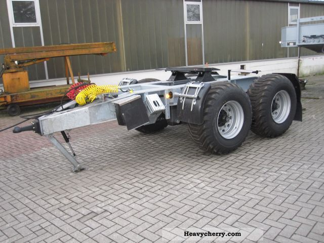 2011 Other  Dolly dolly axle M + S Maumechanik Trailer Chassis photo
