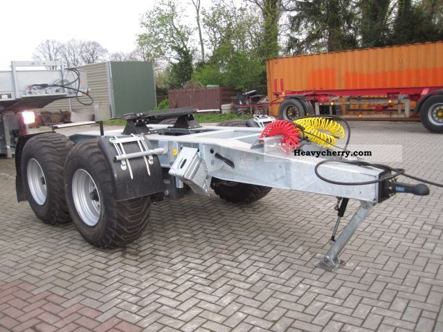 Dolly Dolly Axle M S Maumechanik 2011 Chassis Trailer