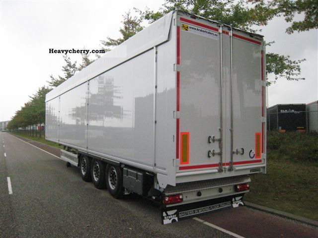 Kraker 92 M3 Walking Floor New 2011 Walking Floor Semi