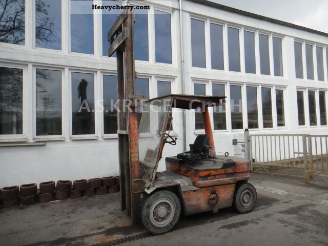 1981 Other  Lugli LP 40C-lift Forklift truck Front-mounted forklift truck photo