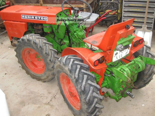 1973 Other  Agria 6700 articulated Agricultural vehicle Tractor photo
