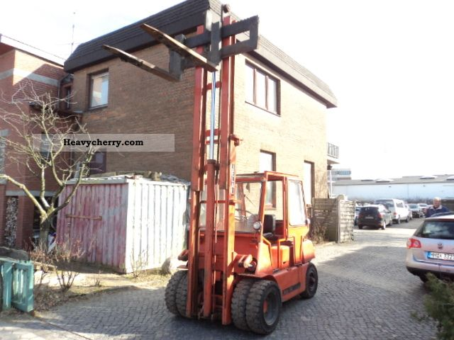 1980 Other  Jelau 4000 Forklift Forklift truck Front-mounted forklift truck photo