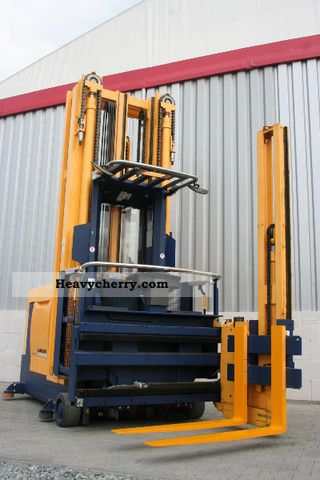 High Bay Rack Forklift Truck Commercial Vehicles With