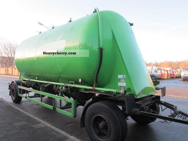 1983 Other  Cobolt silo trailers f dust and spillage Trailer Silo photo