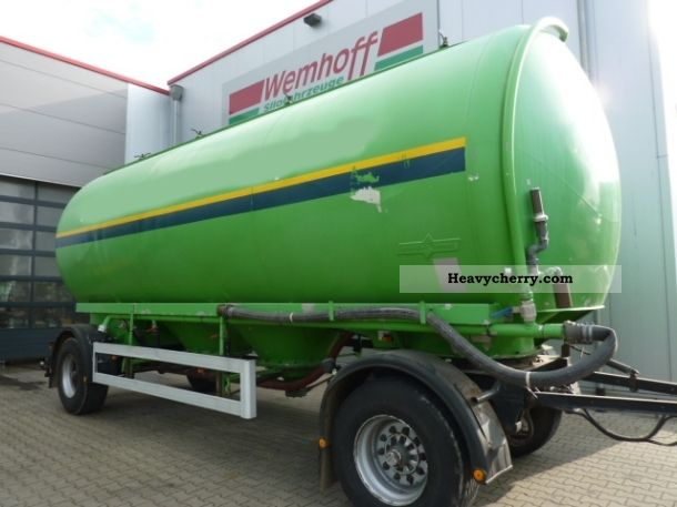 1991 Other  31 m³ silo trailers Spitzer Trailer Silo photo