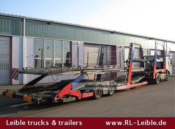 1998 Other  Lohr / € Lohr 1:21 ST - Construction Luftgefedert Semi-trailer Car carrier photo