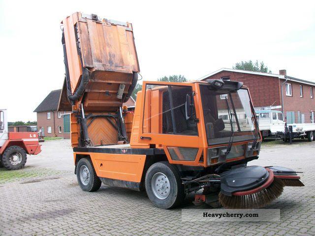 Schmidt Sk4000 Street Sweeper Sweeper 1994 Other