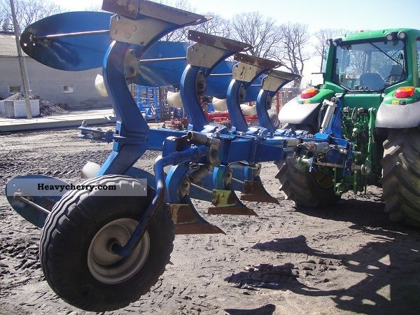 2011 Other  Plug Overum CX 4-skibowy obrotowy Agricultural vehicle Plough photo