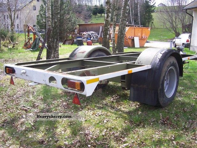 Wabco Westinghouse Bw Trailer 1995 Chassis Trailer Photo