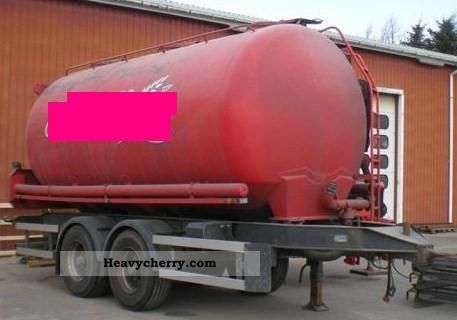 2003 Other  24000ltr. Aluminum tank feed / pellet / corn / tandem Trailer Silo photo