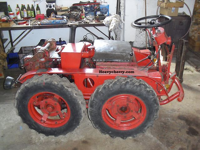 1958 Other  HELA Hermann Lanz VARIMOT 08 Agricultural vehicle Tractor photo