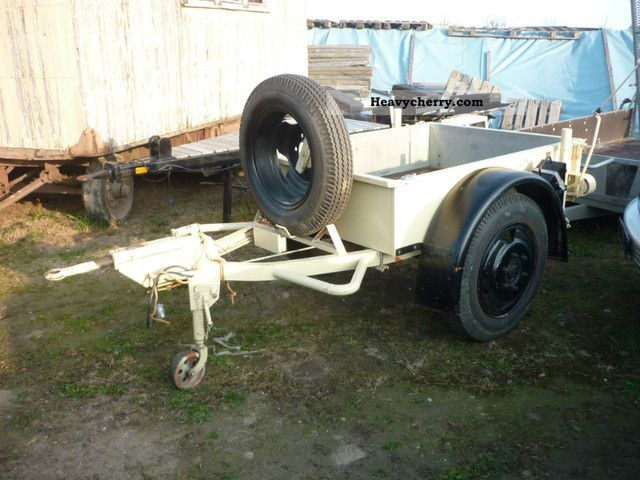 1966 Other  Vintage, veteran supporters Trailer Stake body photo