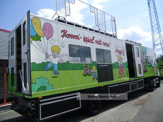 1991 Other  Event-Exhibition-Sales Promotion-game mobile Semi-trailer Other semi-trailers photo