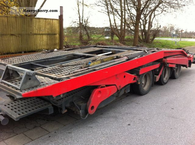 1998 Other  Lohr trailers for trucks Truck over 7.5t Car carrier photo