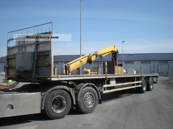 1975 Other  Härryda CRANE TRAILER SHB 280 N Semi-trailer Other semi-trailers photo