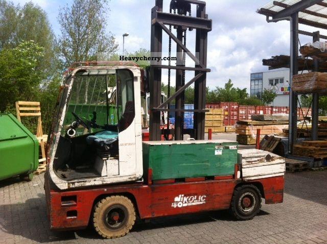 1998 Other  Nikolic EFQ 40 electronic Sideloader Forklift truck Side-loading forklift truck photo