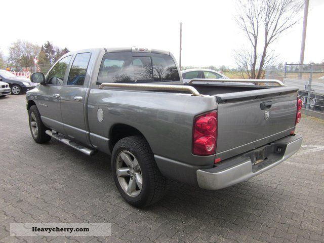 ram 1500 gas plant 2007 box type delivery van photo. Black Bedroom Furniture Sets. Home Design Ideas