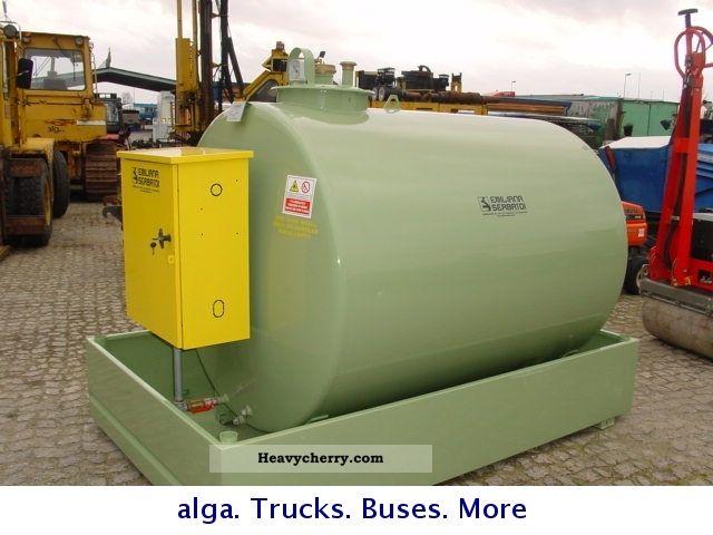 2011 Other  Emiliana Serbatoi TF 3.3000 liter tank with pump Trailer Tank body photo