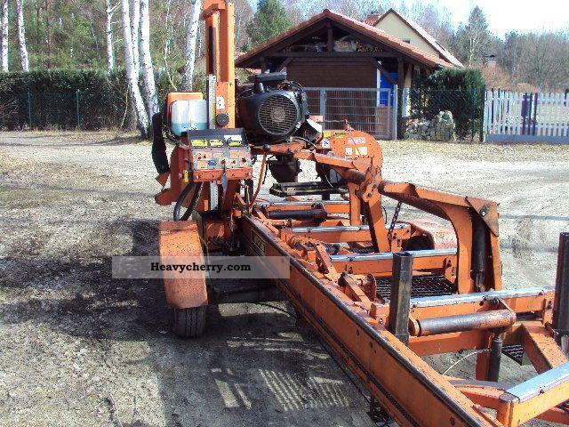 wood mizer lt 40 mobile sawmill 2000 agricultural forestry vehicle rh heavycherry com wood mizer lt40 specs wood mizer lt40 owners manual pdf