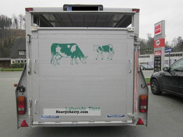 Menke Janzen Sdah Cattle Truck 2008 Cattle Truck Trailer
