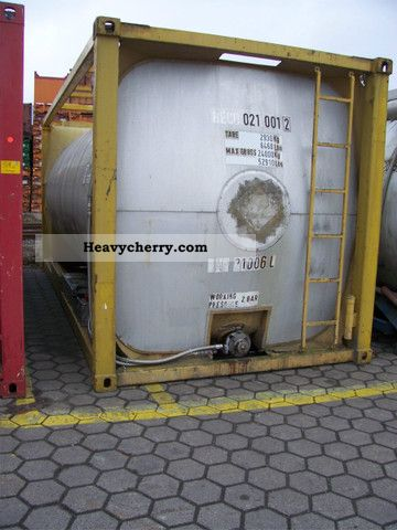 1975 Other  Stainless steel tank container storage tank 21,000 liters Semi-trailer Tank body photo