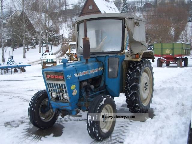 Ford 3055 1974 Agricultural Tractor Photo And Specs