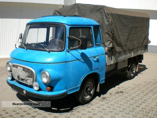 1966 Other  Barkas B 1000 vintage truck with canvas ...... Van or truck up to 7.5t Other vans/trucks up to 7 photo