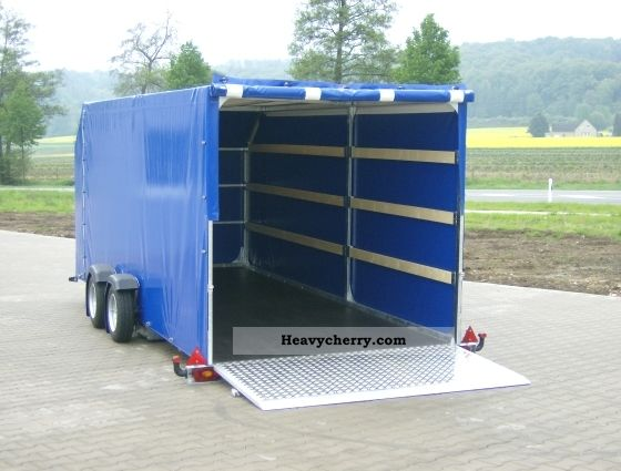 Stake Body And Tarpaulin Trailer Commercial Vehicles With Pictures