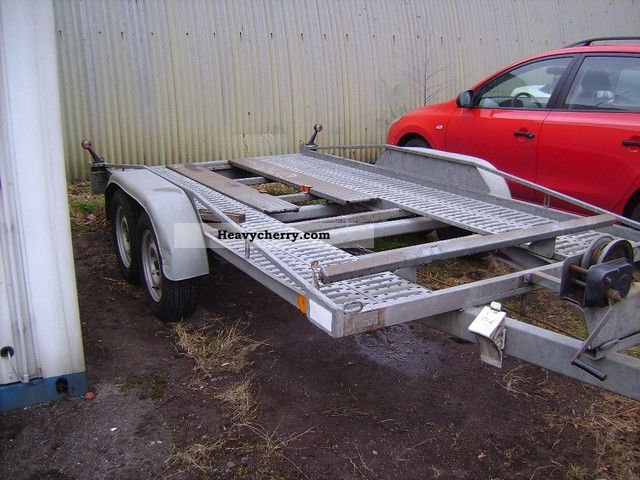 1998 Other  NEDVED Trailer Car carrier photo