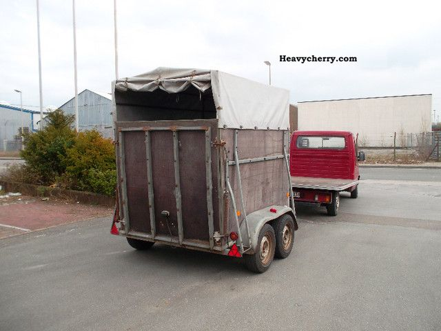 2 Horse Trailer Meiners 1990 Cattle Truck Trailer Photo