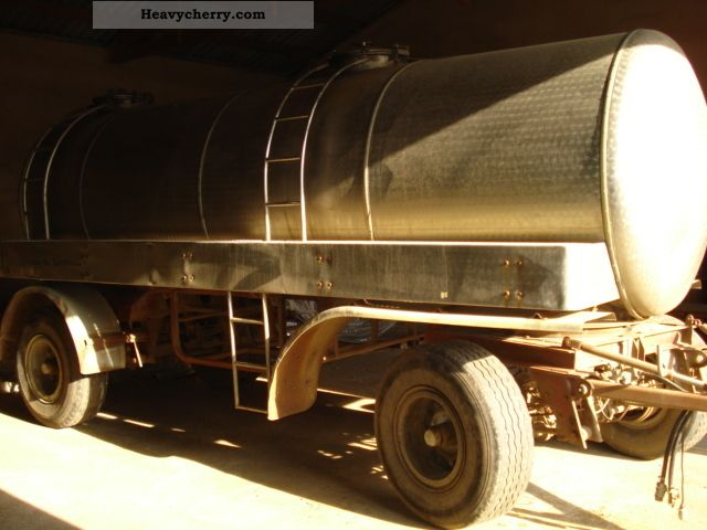 1977 Other  Hörndl stainless steel tank Trailer Tank body photo