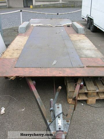 1995 Other  Lynton car trailer length 8 feet 2.5 tons Trailer Chassis photo