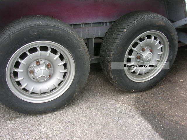 Lynton Car Trailer Length 8 Feet 2 5 Tons 1995 Chassis