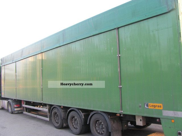 Legras Dm34 2008 Walking Floor Semi Trailer Photo And Specs