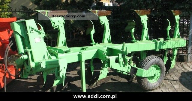 2011 Other  Dowdeswell Plug 4 skibowy obrotowy Agricultural vehicle Plough photo