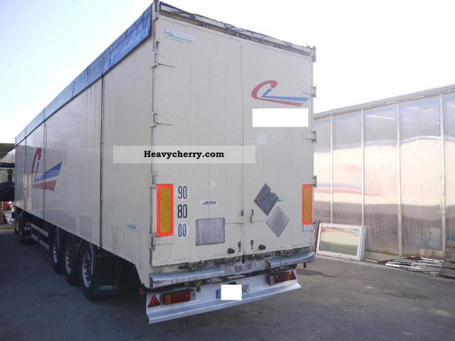 Legras Walking Floor Trailers About 90 Cubic 2001