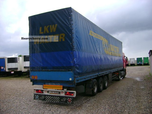 1998 Other  SCHWARZMÜLLER SPA 3 / e (id: 6378) Semi-trailer Stake body and tarpaulin photo