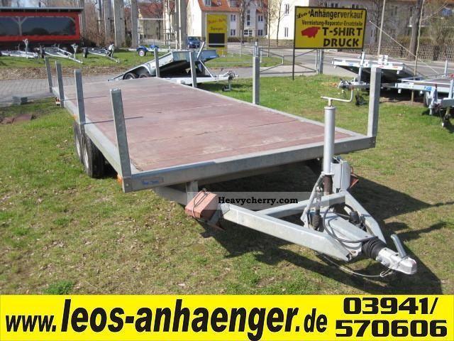 About 3500kg plate flatbed loader 1998 trailer for Ecksofa 2 00x2 00