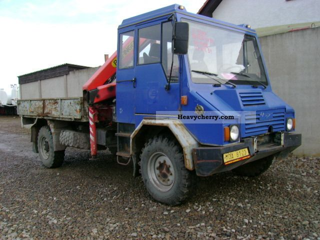 1998 Other  PRAGA UV 80 VAL / HR 4x4 (id: 5987) Truck over 7.5t Stake body photo