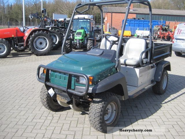 Club Car Carry All 249 4x4 Diesel 2011 Agricultural Loader