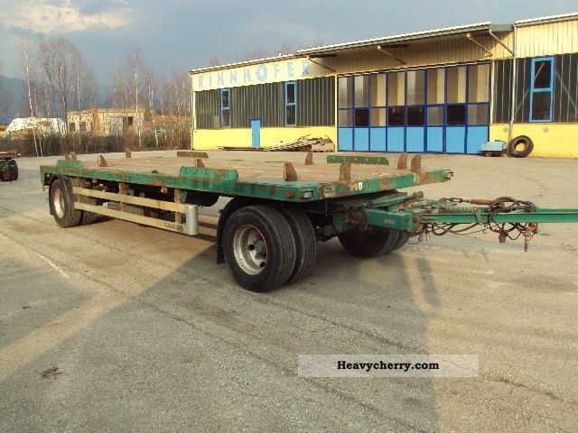 1998 Other  Moesner Trailer Roll-off trailer photo