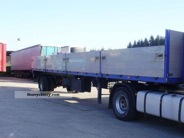 Single Axle Semi Trailer : We than single axle trailer stake body semi