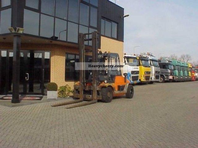 1998 Other  Lugli heftruck 7000 kg Forklift truck Front-mounted forklift truck photo