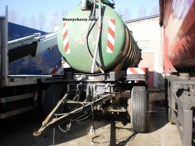 1973 Other  GOFA, holding drum, suction, pressure tank Trailer Tank body photo