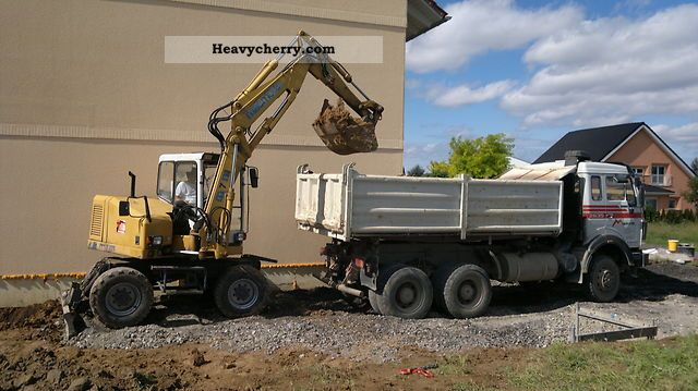 1998 Other  Macmoter M7M Construction machine Mobile digger photo