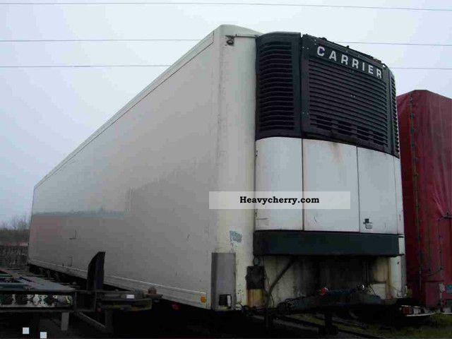 1998 Other  SOR Carrier Maxima 2 Semi-trailer Deep-freeze transporter photo