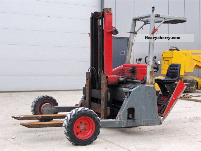 1999 Other  Kooiaap Lifter FE 3x3 R Forklift truck Other forklift trucks photo