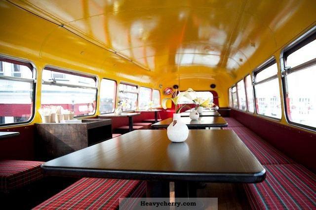 London Aec Routemaster Mobile Cafe Restaurant 1966 Bus