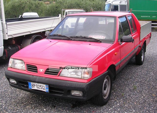 2000 Other Daewoo Fso Pick Up Van Or Truck To 7 5t Stake Body